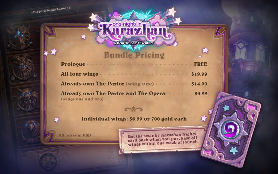 Karazhan price