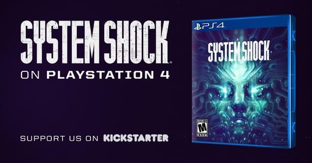 System Shock Playstation 4 Kickstarter