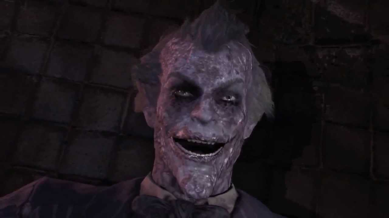 Batman Arkham City Dead Joker