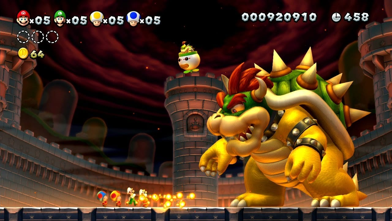 New Super Mario Brothers U Bowser