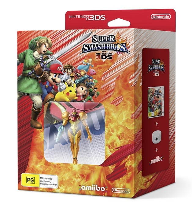 Super Smash Brothers for Nintendo 3DS amiibo bundle