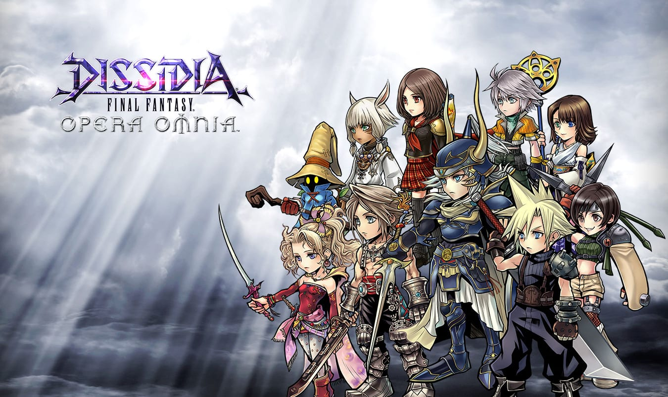 Final Fantasy Dissidia: Opera Omnia Announced For Japanese Mobiles!