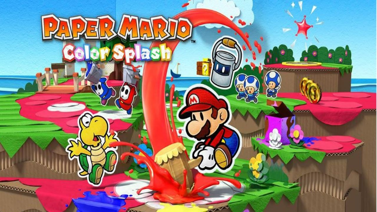 Paper Mario Color Splash review