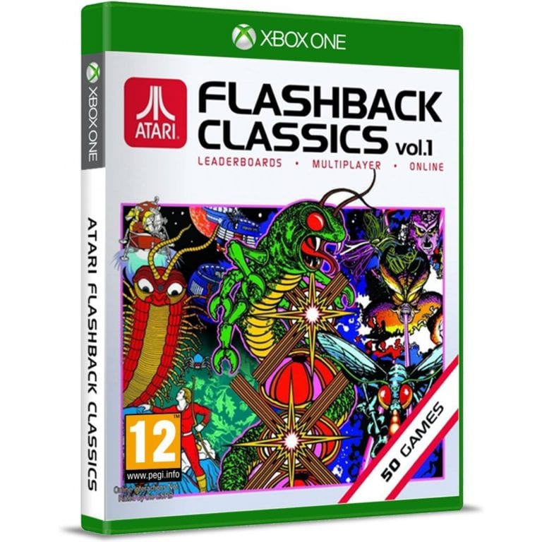 Atari Flashback Classics volume one box art