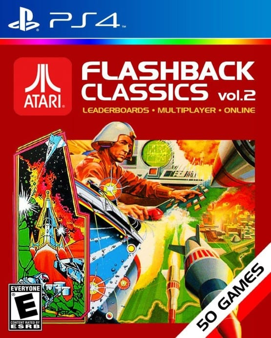 Atari Flashback Classics volume two box art