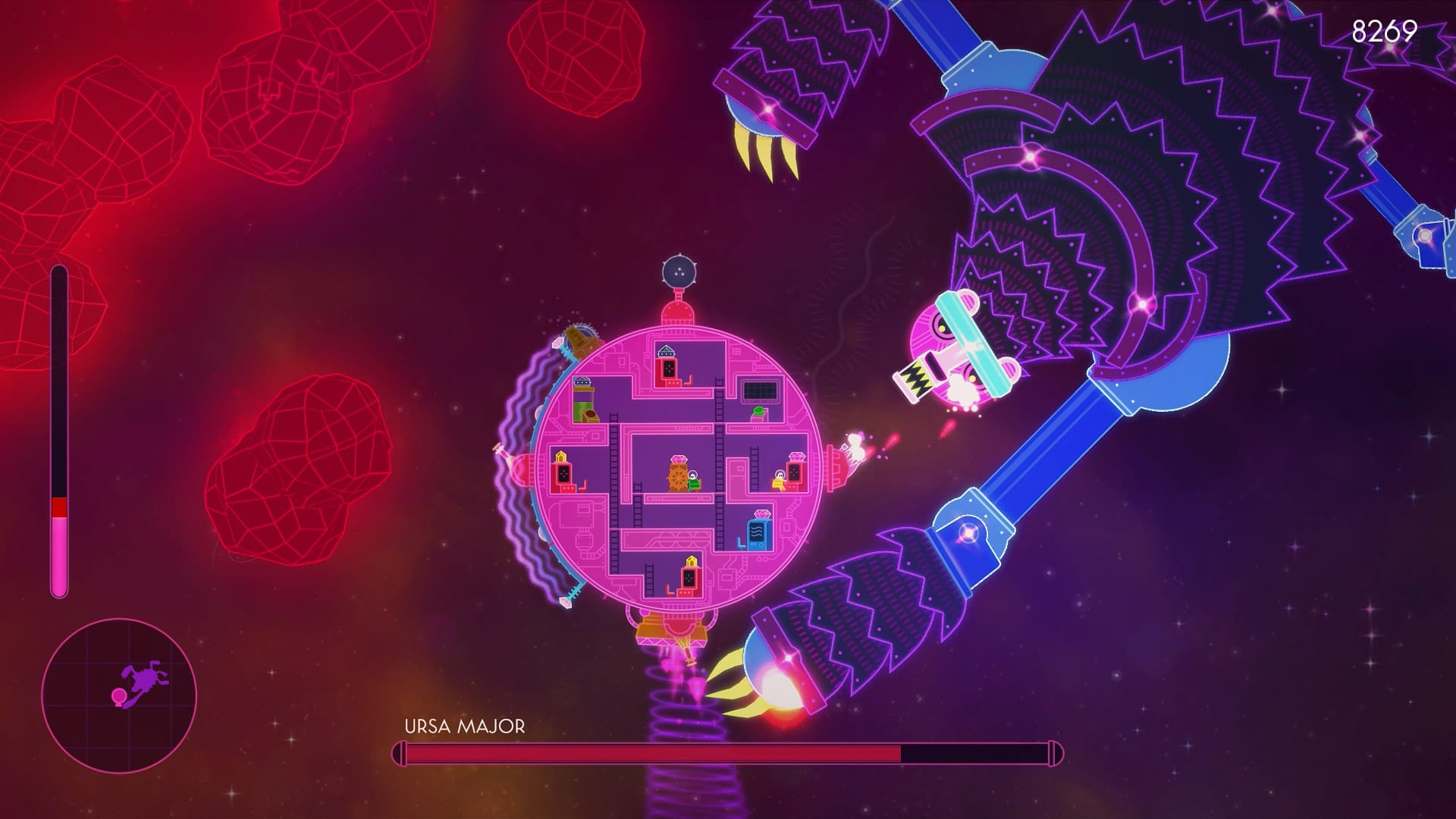 Lovers in a Dangerous Spacetime battle