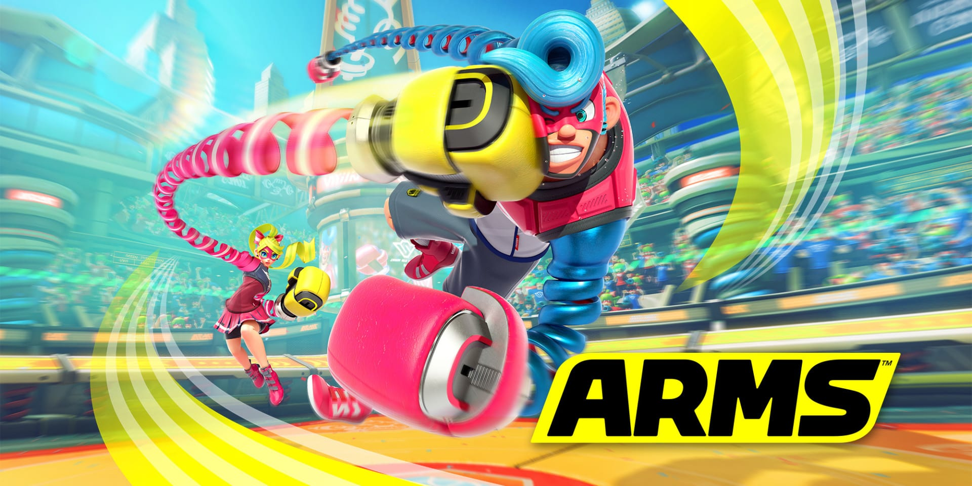 Arms Trailers Show Off Characters and Weapons