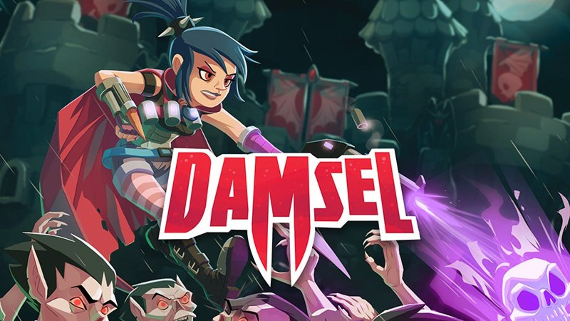 Crowd-funded scroller Damsel has potential