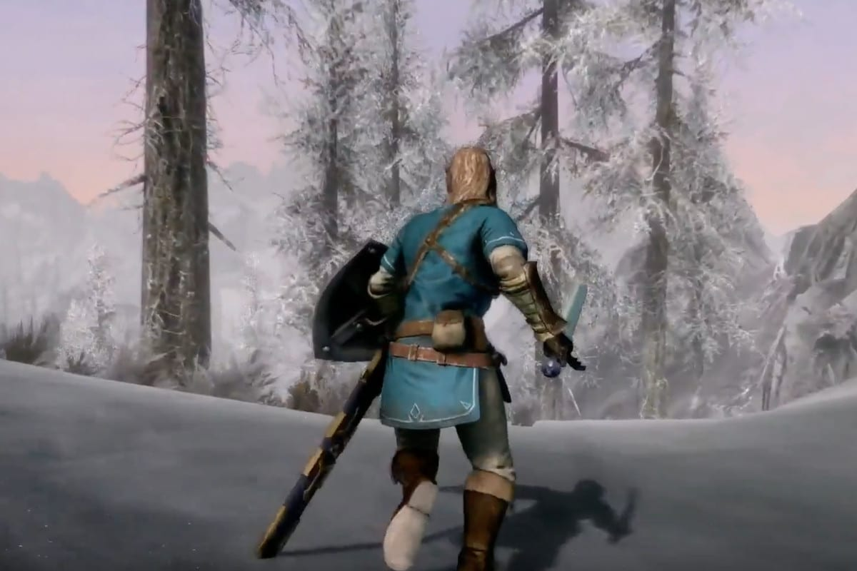 New Skyrim For Nintendo Switch Trailer Shows Off Exclusive Features