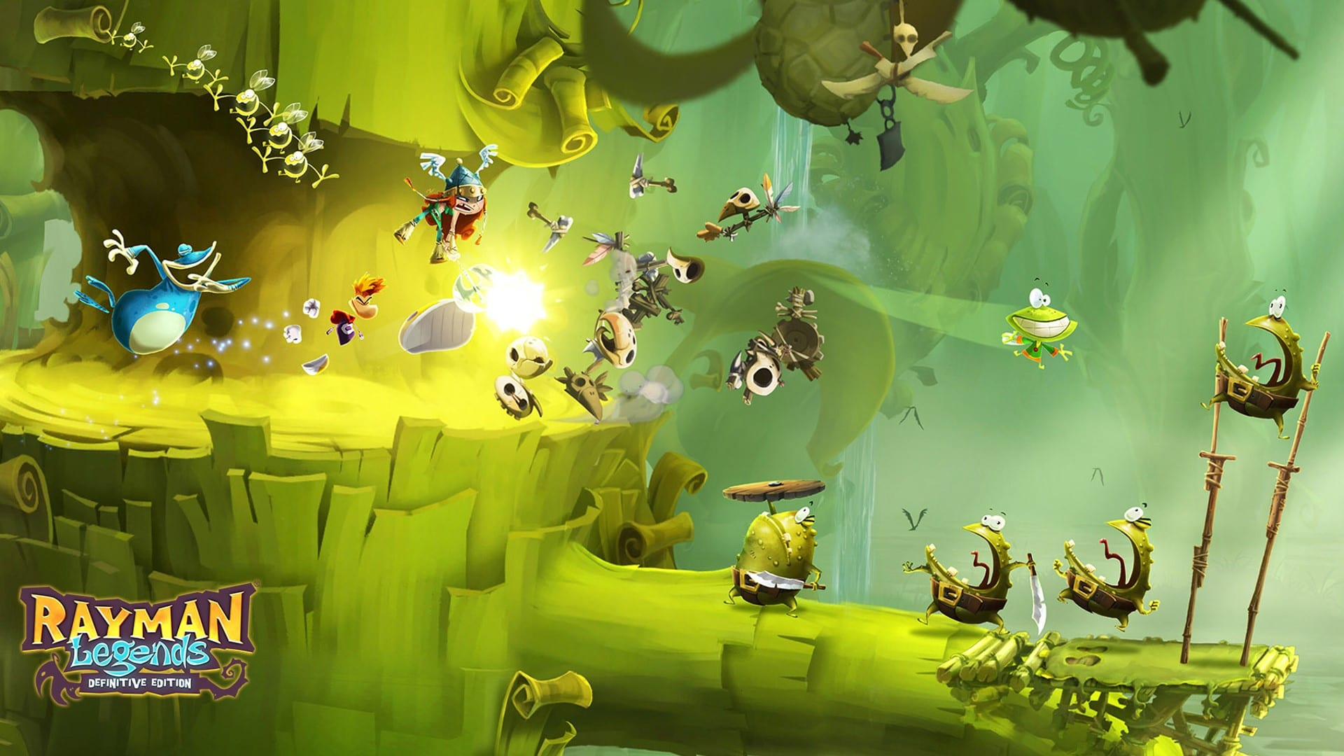"""Rayman Legends: Definitive Edition Coming to Nintendo Switch September 12, Demo Coming """"Later this Summer"""""""
