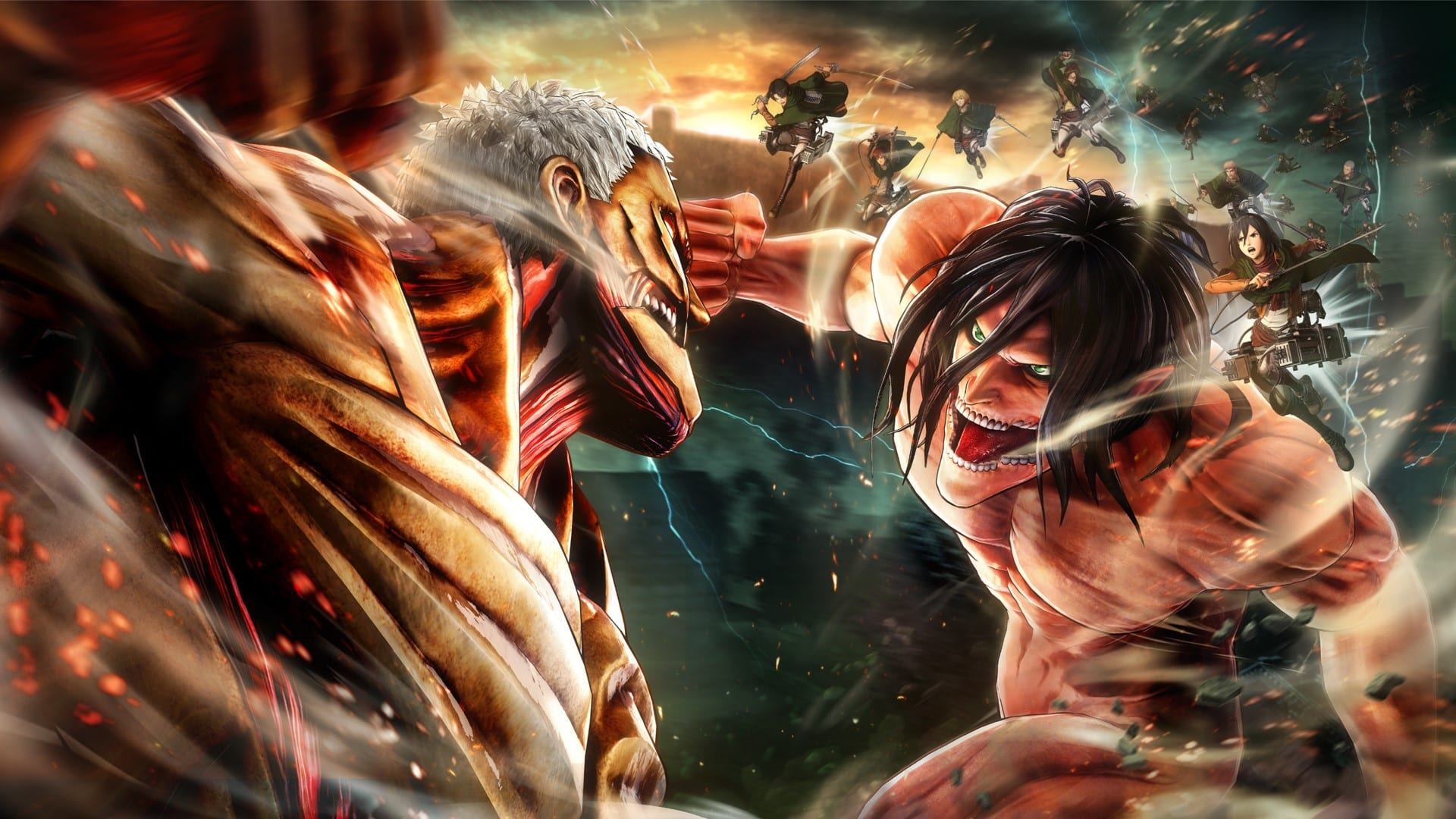 Attack On Titan 2 game announced for 2018 - GameLuster
