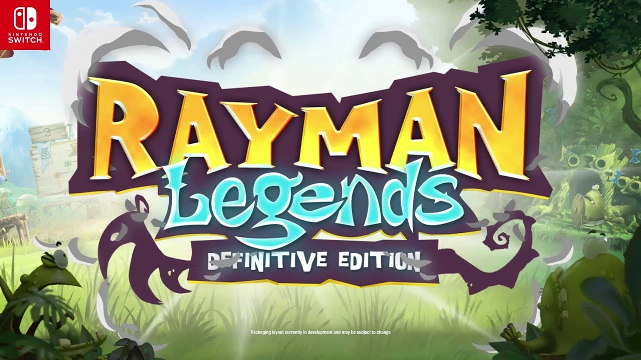 Rayman Legends: Definitive Edition released for Switch