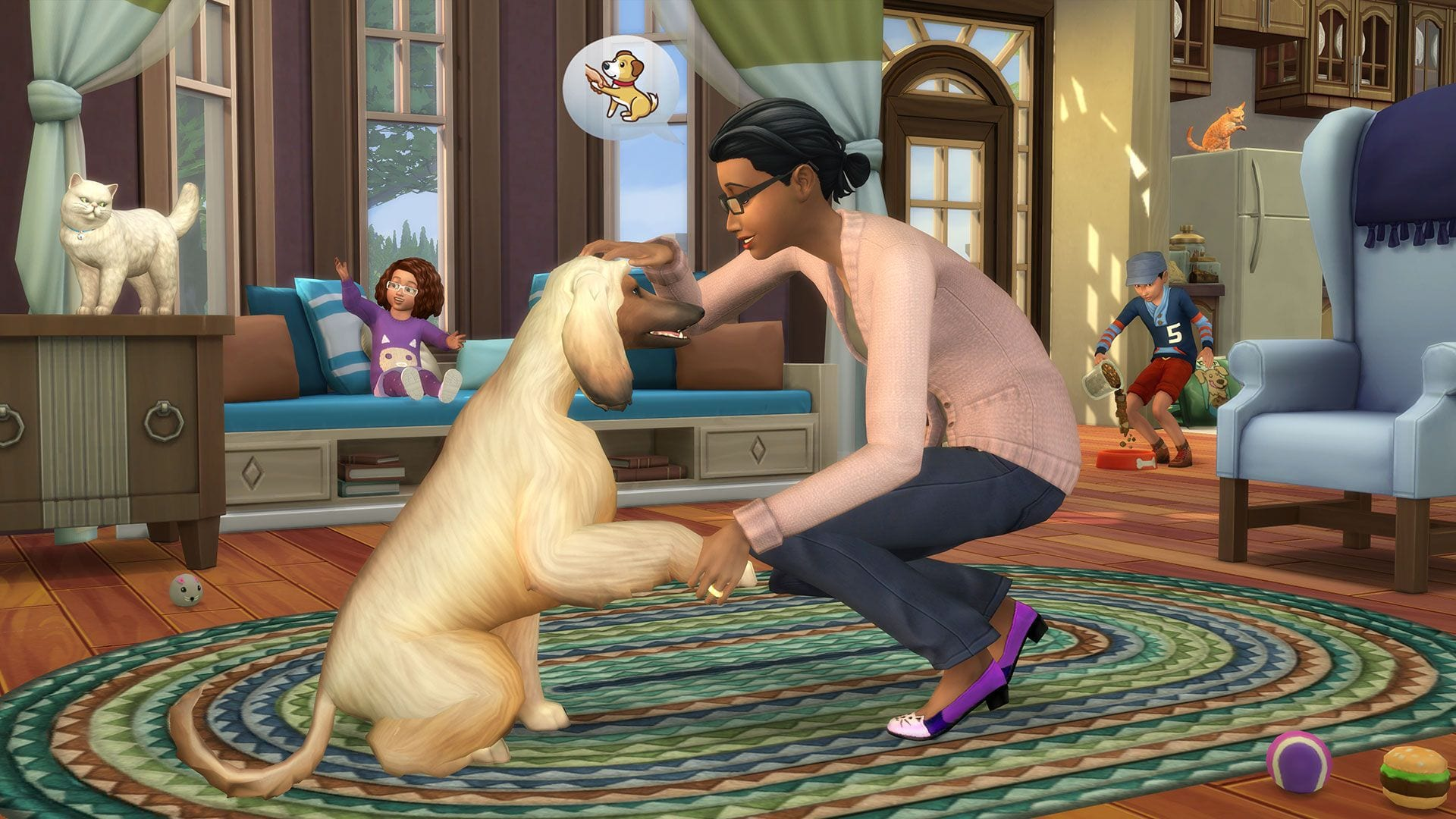 Cats and Dogs Invade Sims 4 in Latest Expansion