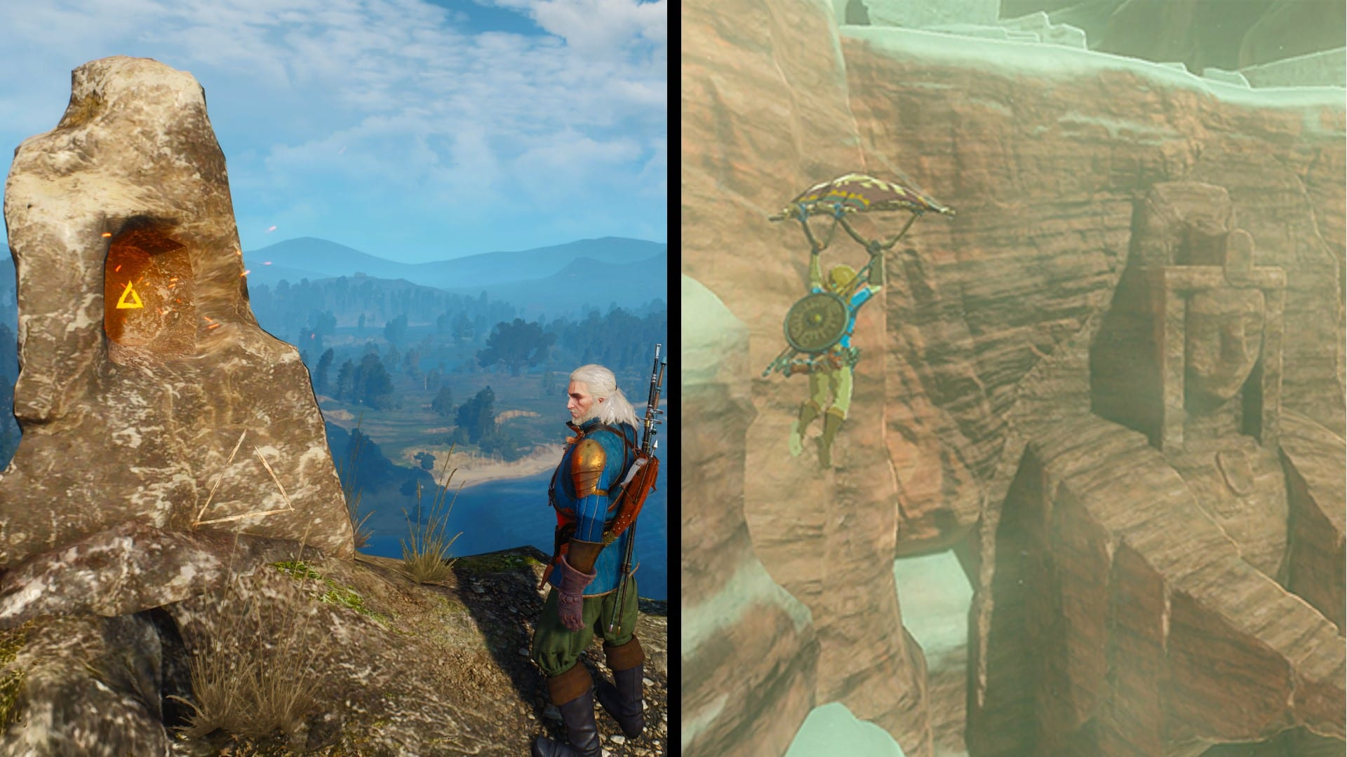 Going Your Own Way: Exploration in Breath of the Wild and The Witcher 3