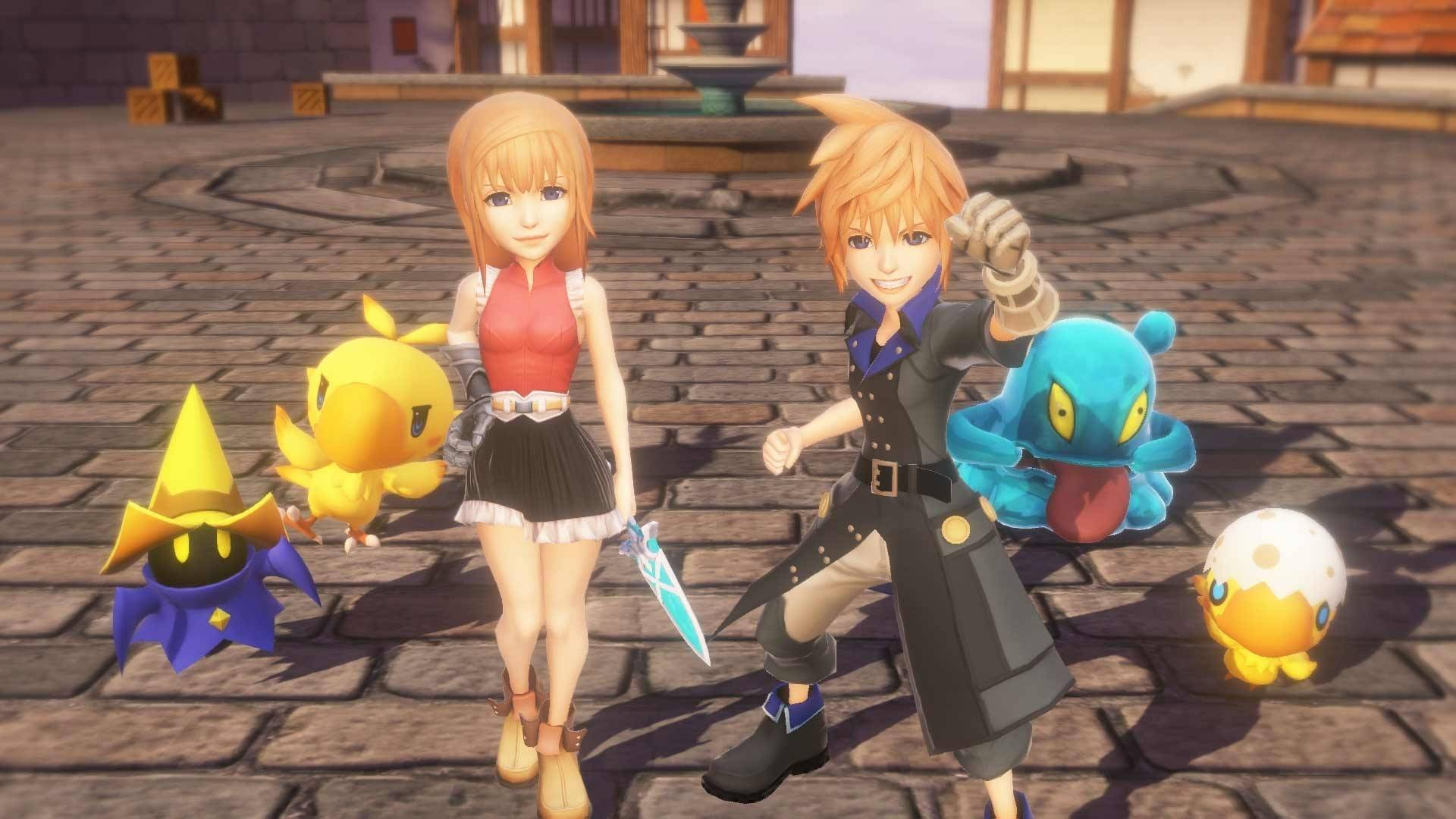 World of Final Fantasy Releases Day One Edition Its First Week on PC