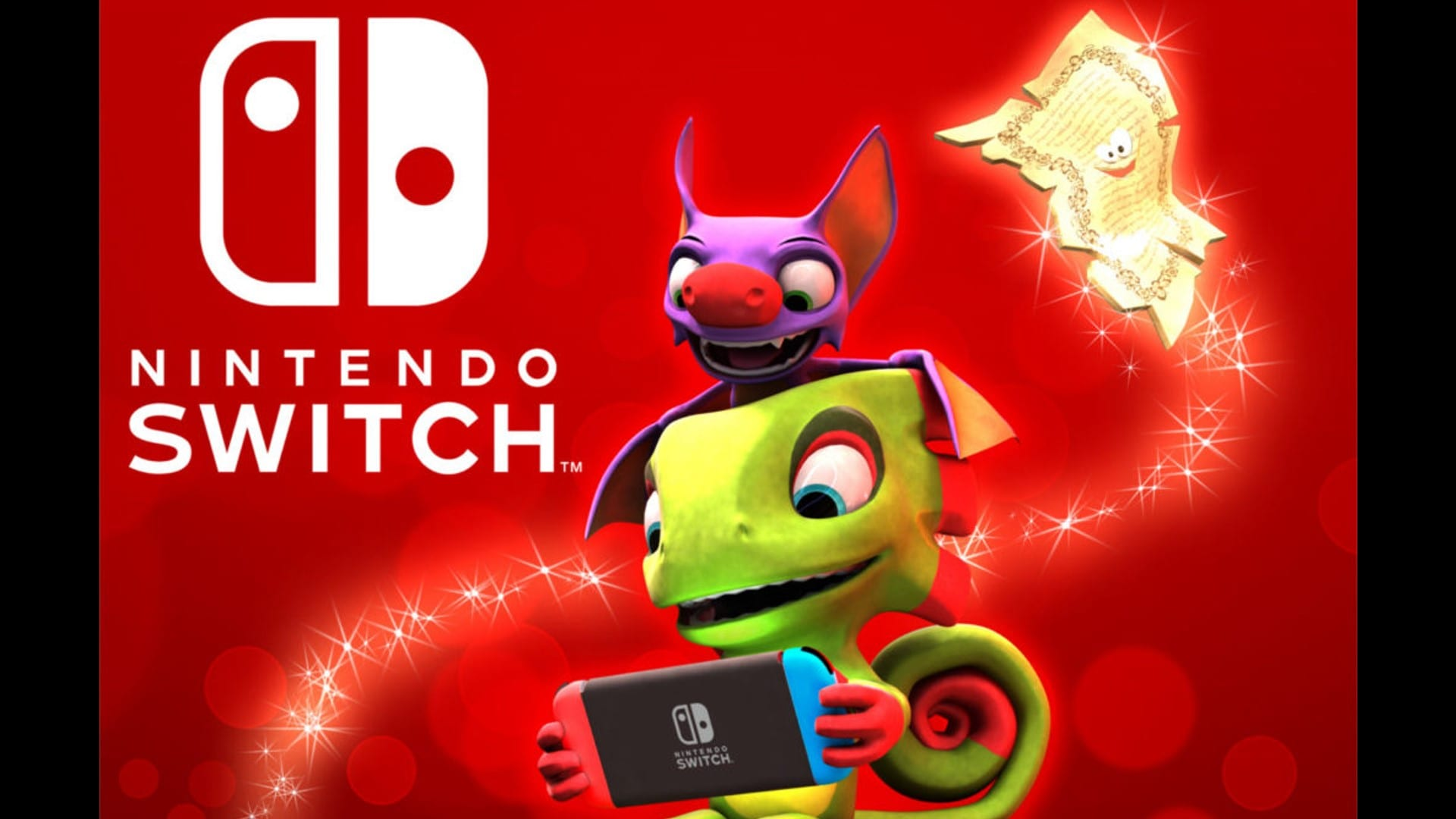 Yooka-Laylee Coming to Nintendo Switch in December