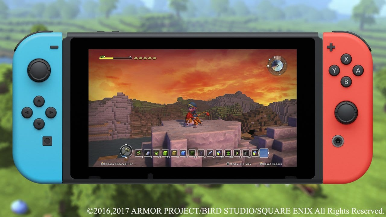 Dragon Quest Builders Headed to Switch