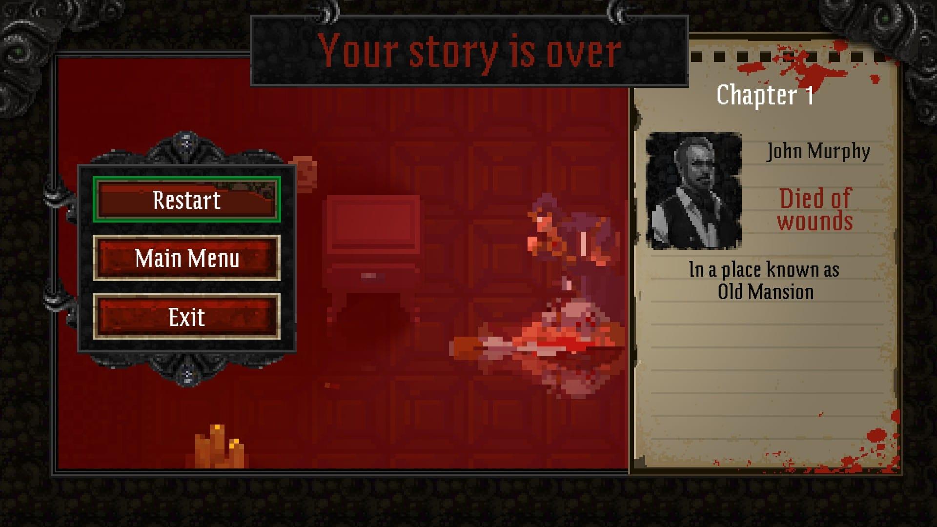 Lovecraft's Untold Stories, screenshot 4