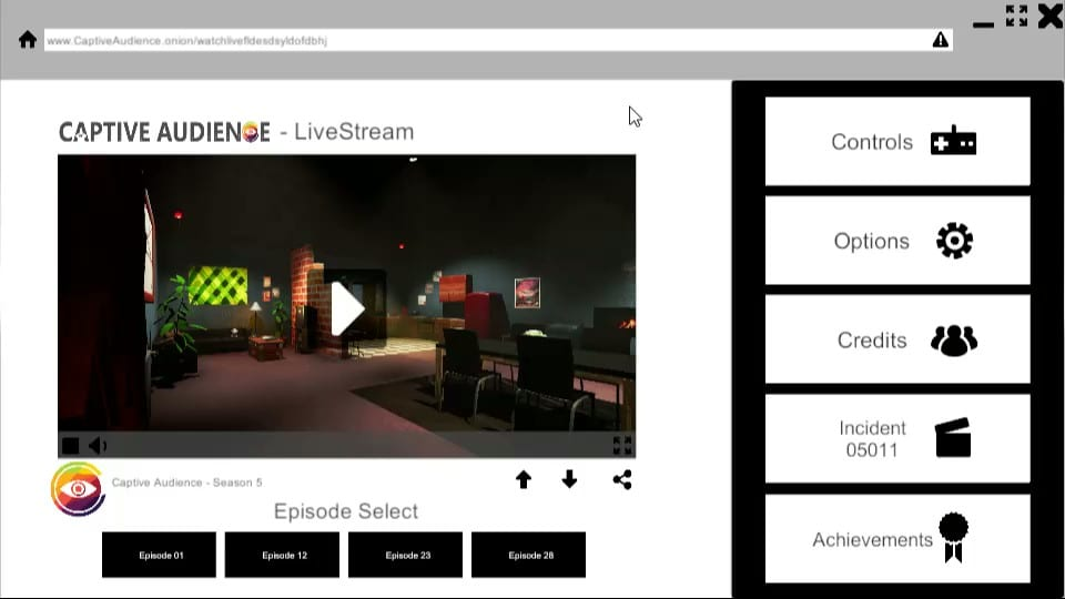 Captive Audience impressions, screenshot 2