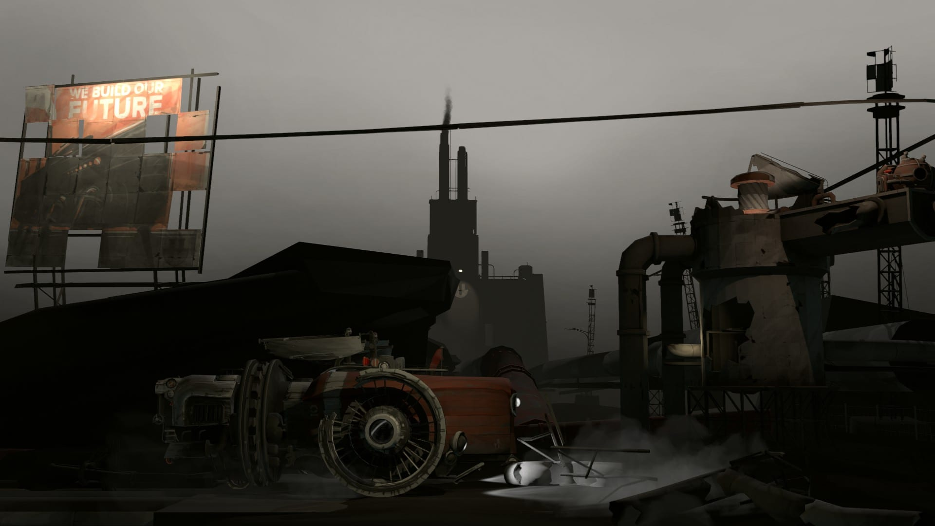 FAR: Lone Sails review - industrial area