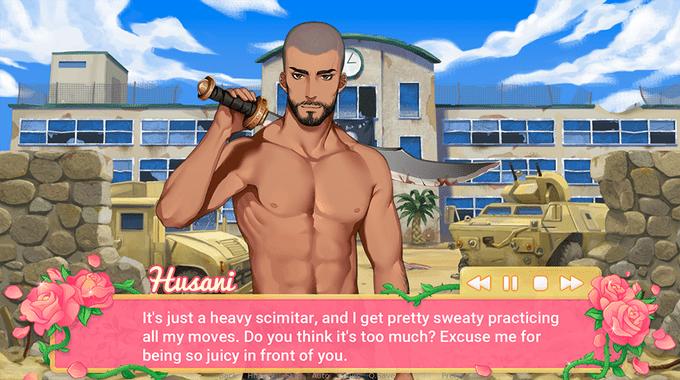Super Patriotic Dating Simulator, screenshot 2