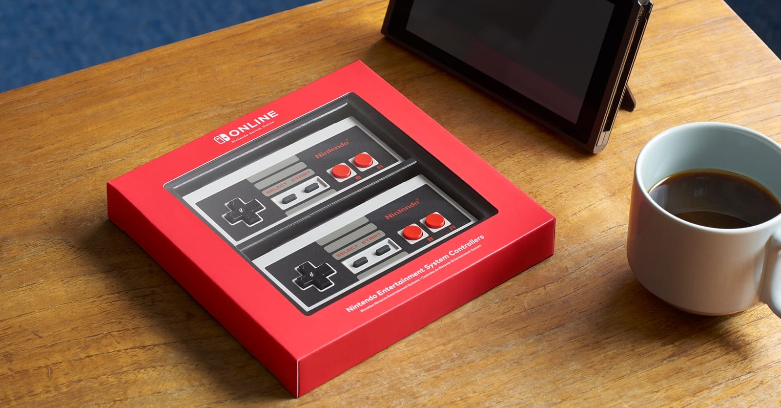 The bluetooth enabled classic controllers for the Switch.