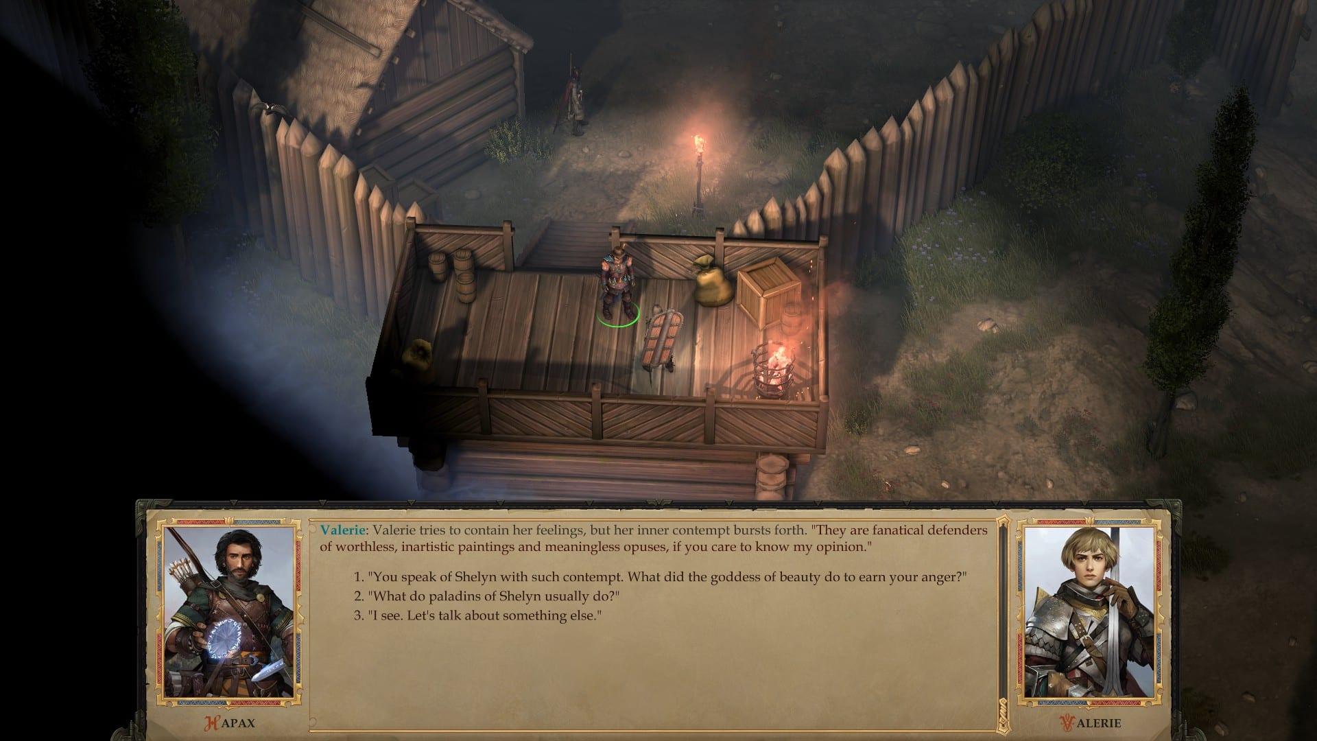 Pathfinder: Kingmaker Impressions screenshot