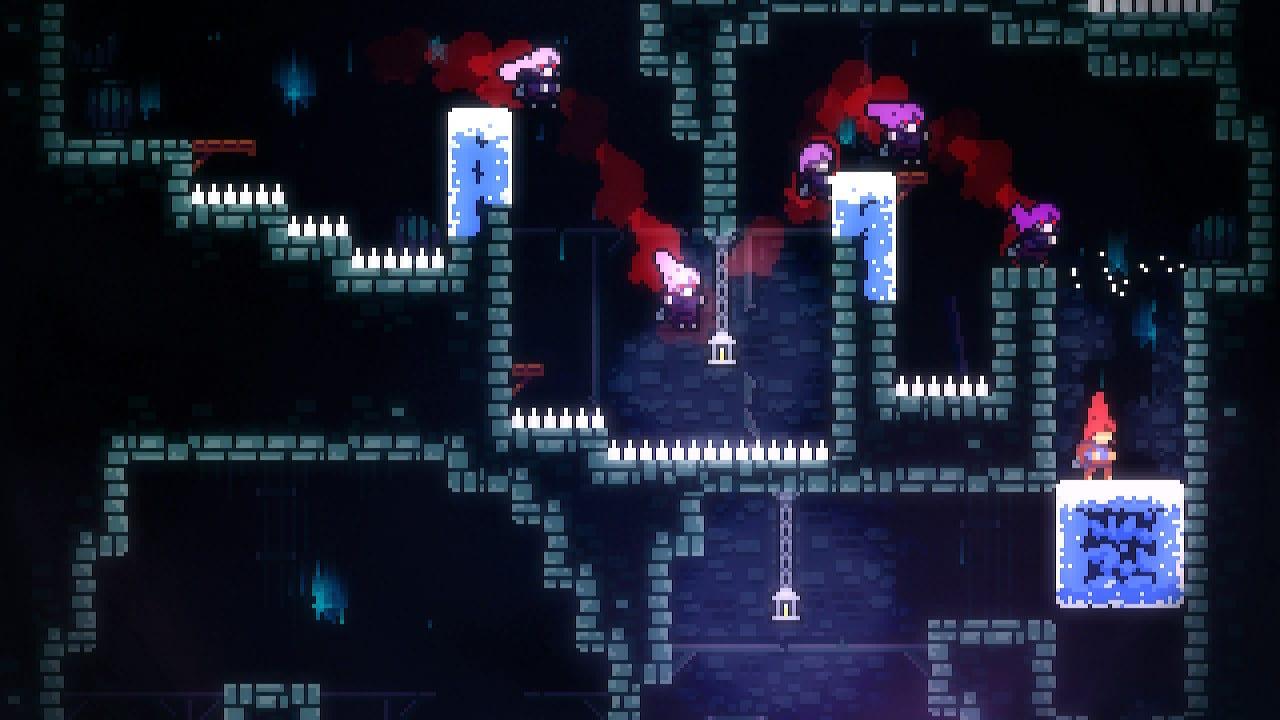 Celeste Gameplay chase