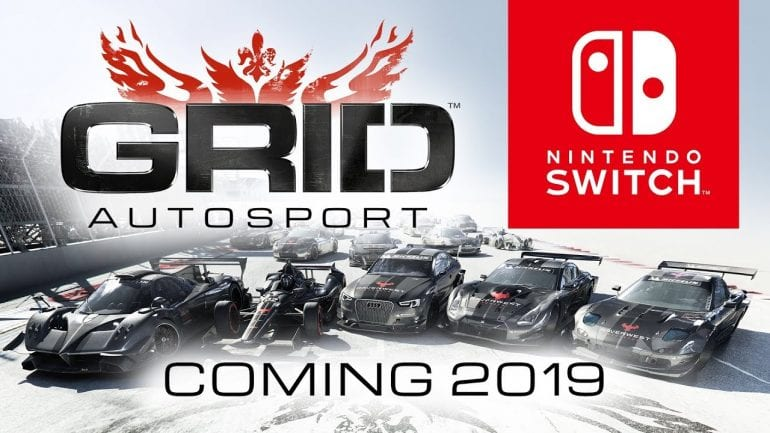 Grid Autosport Coming To Nintendo Switch In 2019 Gameluster