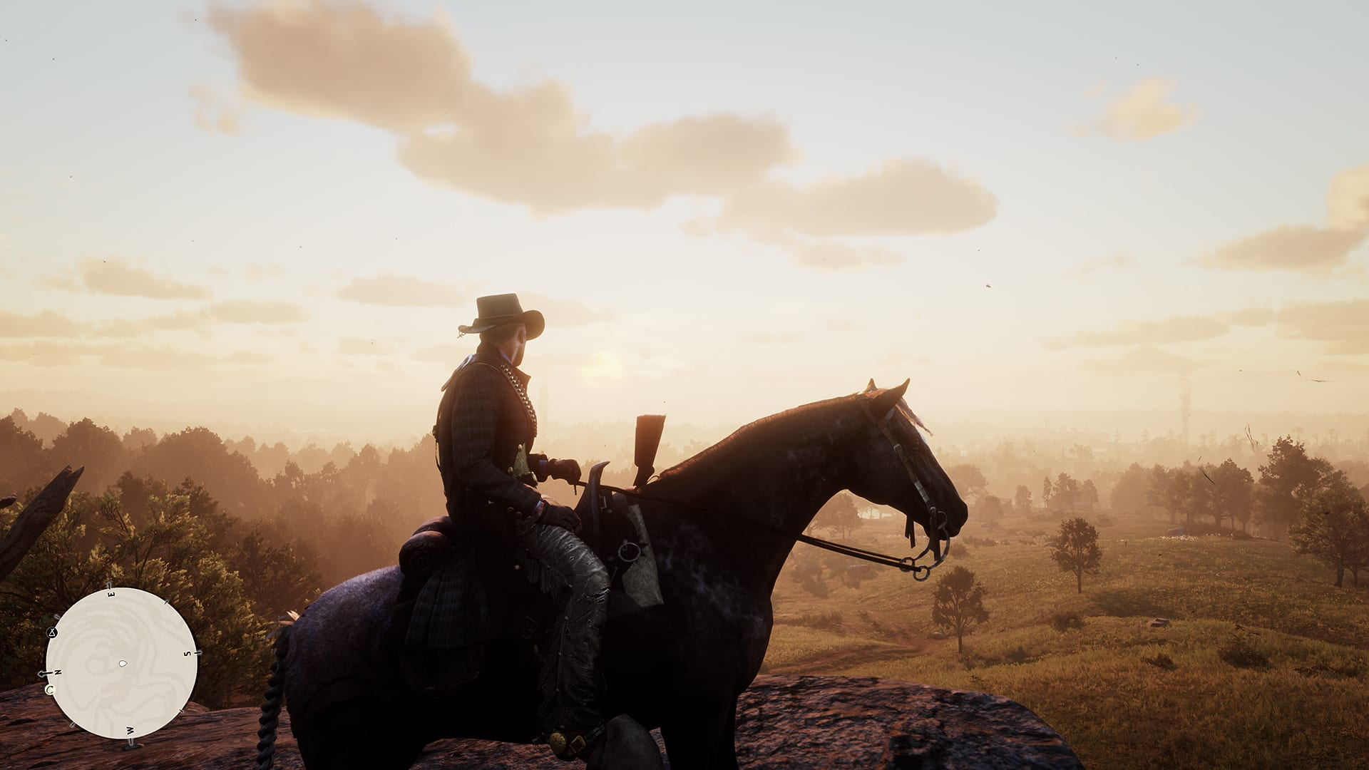 Red Dead Redemption 2 Landscape on Horse