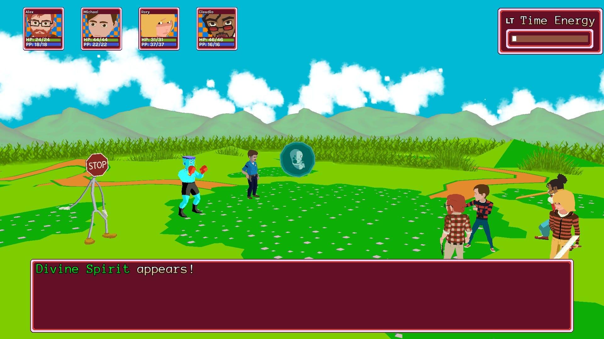 YIIK review 2019 video game Ackk jrpg action
