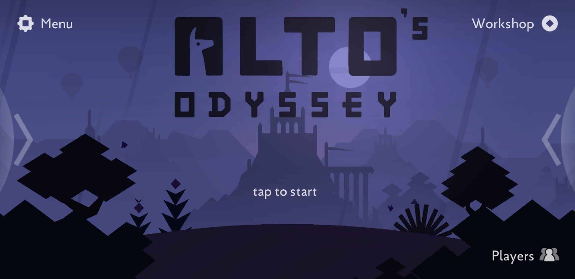 Alto's Odyssey Cover