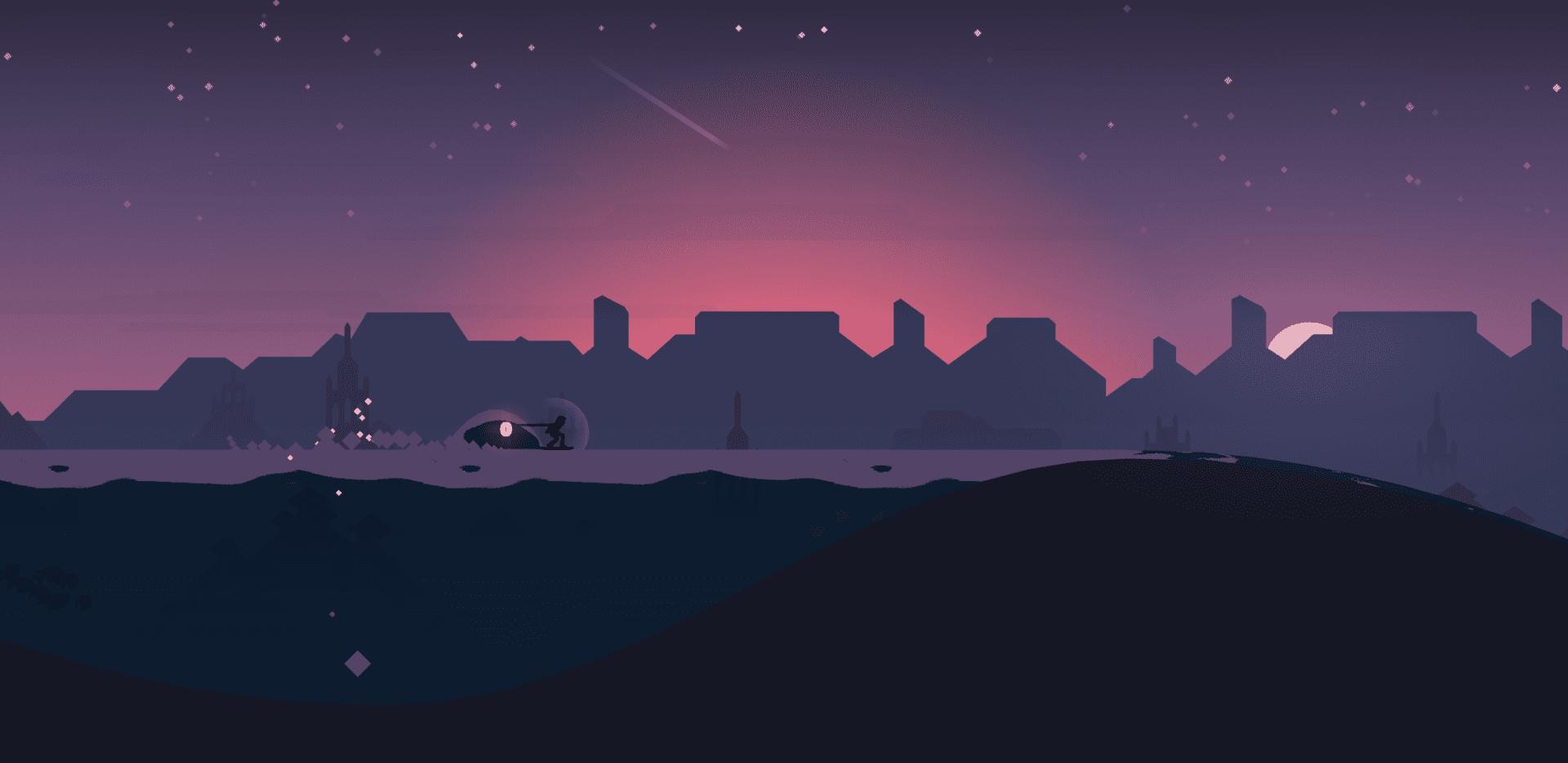 Alto's Odyssey Nighttime