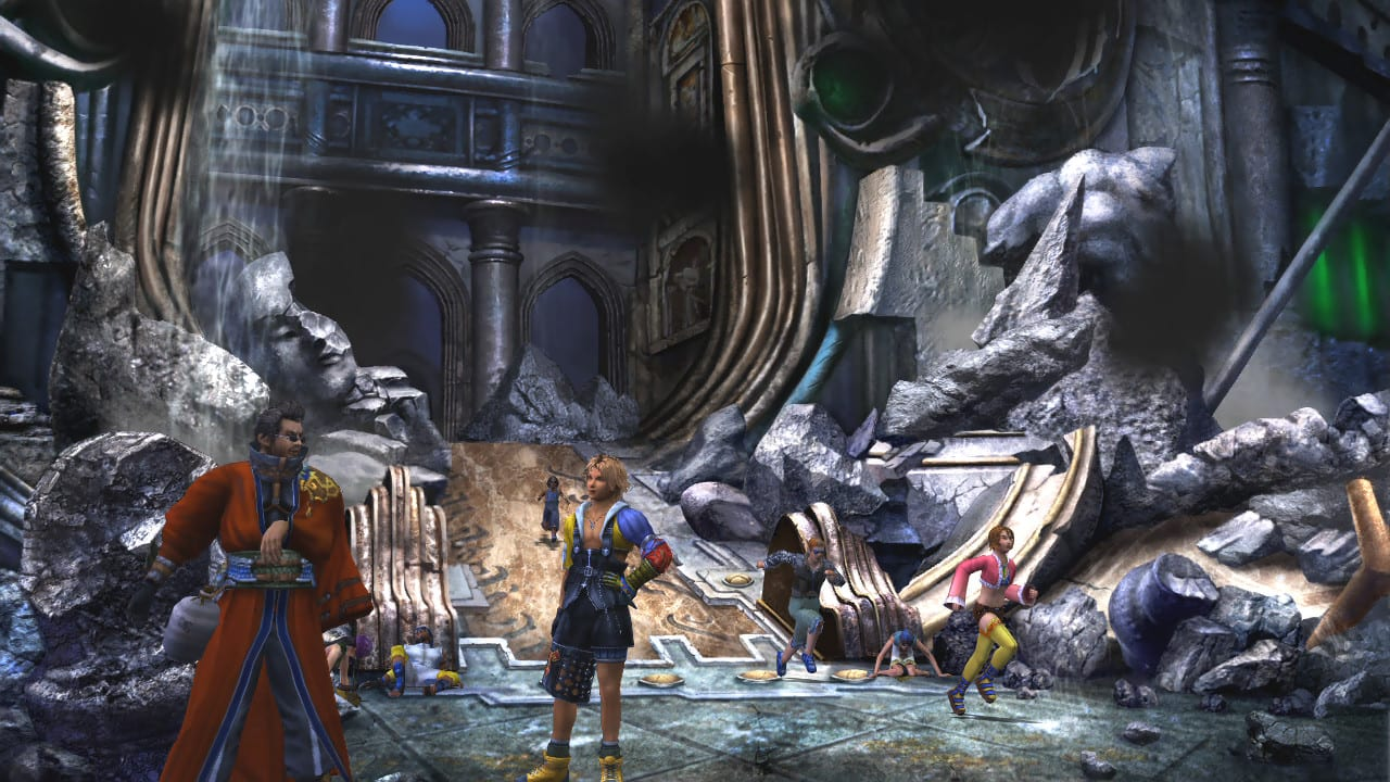 FF X and X-2 remaster screenshot