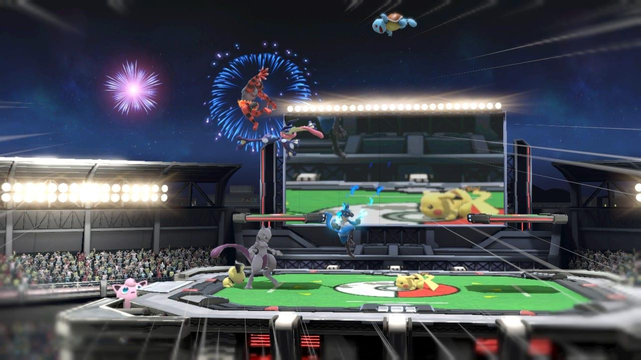 Smash Pokemon Stadium