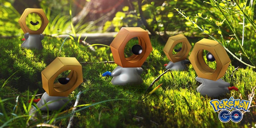 Shiny Meltan Pokemon Go