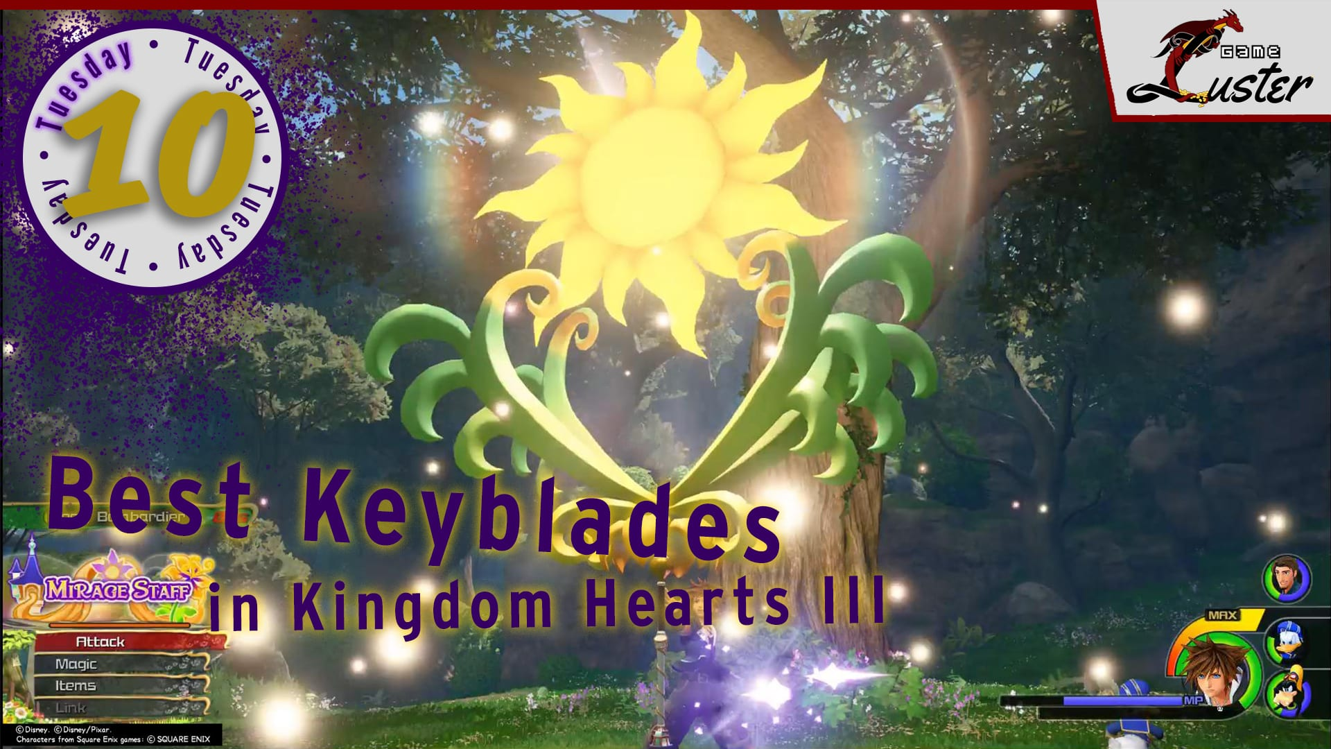 Tuesday 10 Kingdom Hearts Keyblades