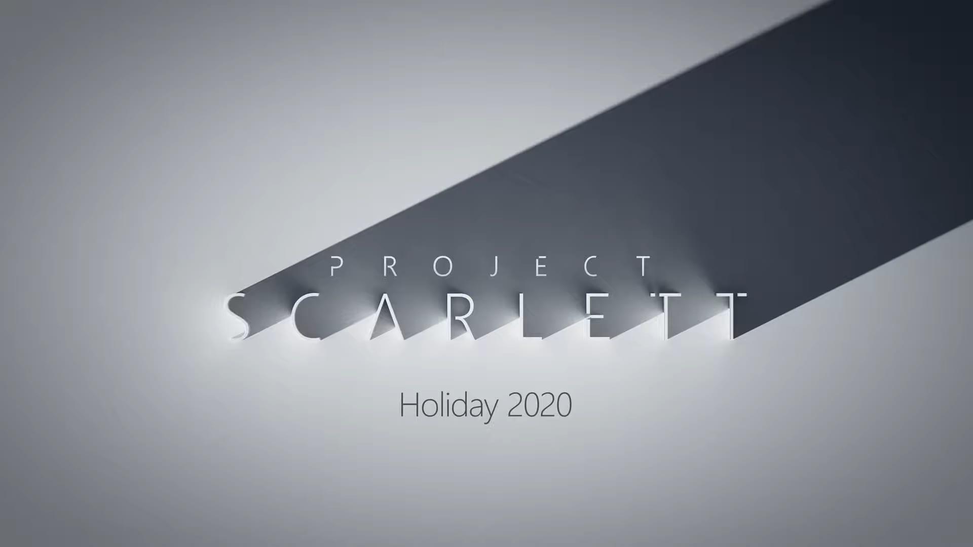 """Screenshotter XboxProjectScarlettE32019RevealTrailer 3'55"""""""
