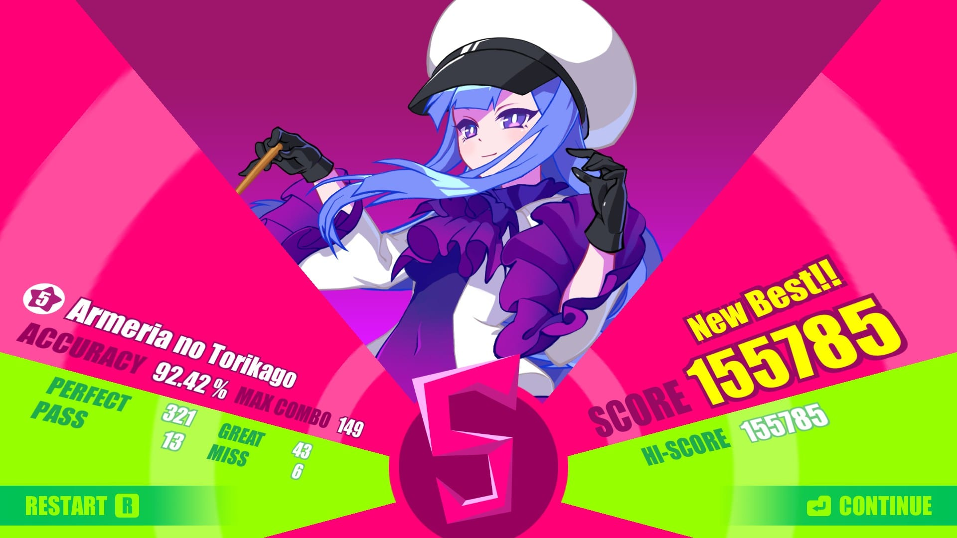 S Rank in Muse Dash