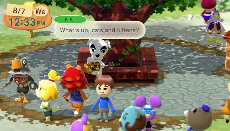 K.K Slider Animal Crossing Plaza