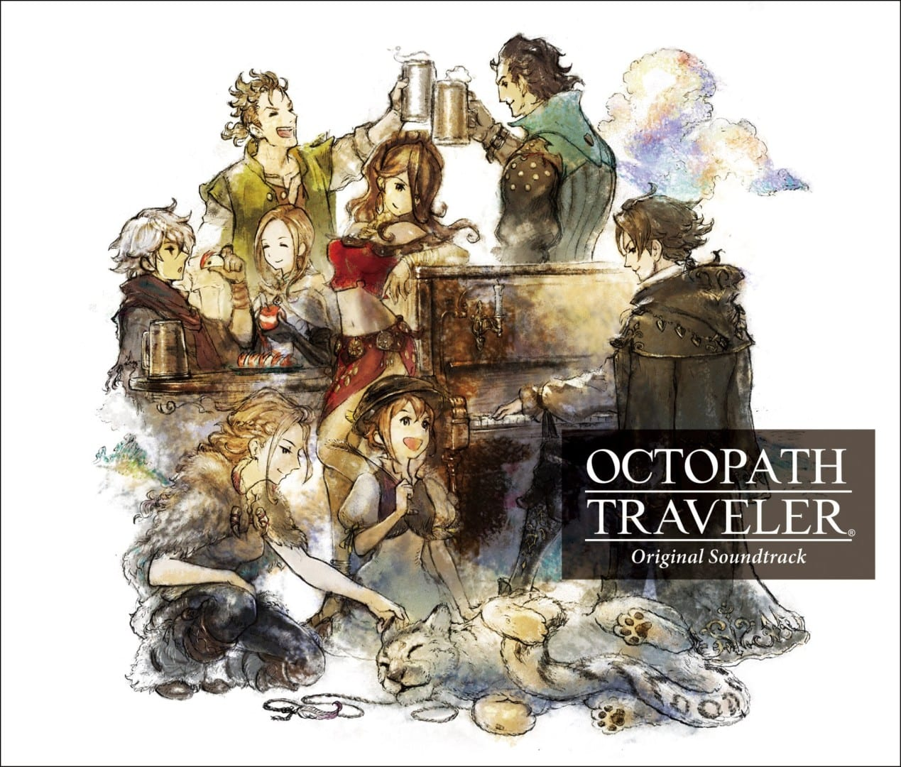 octopath traveler soundtrack