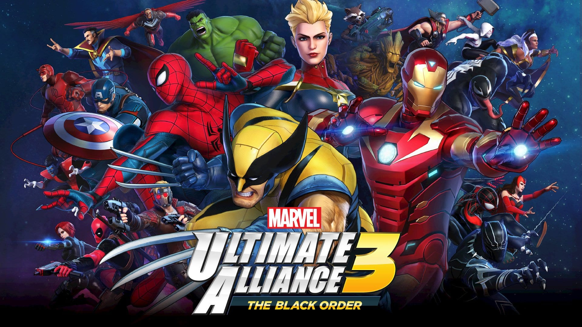Marvel Ultimate Alliance 3 title