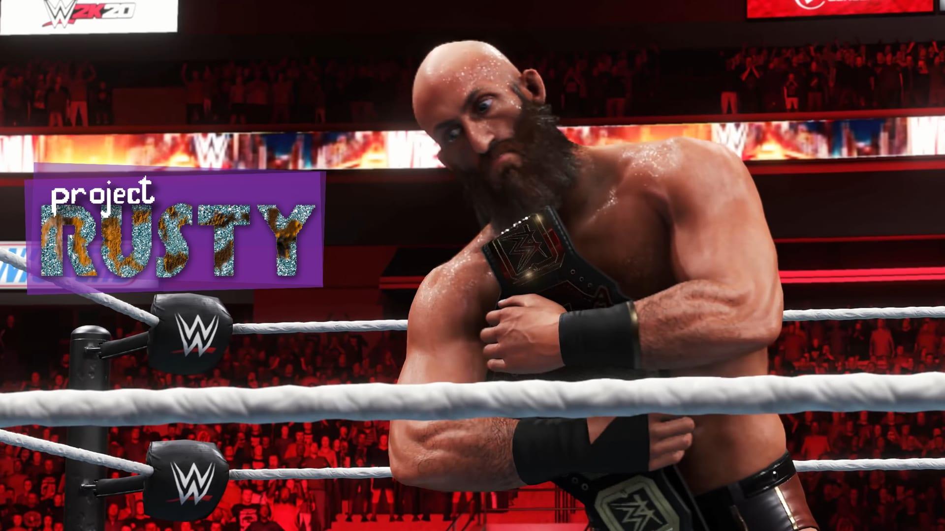 Project Rusty WWE 2k20