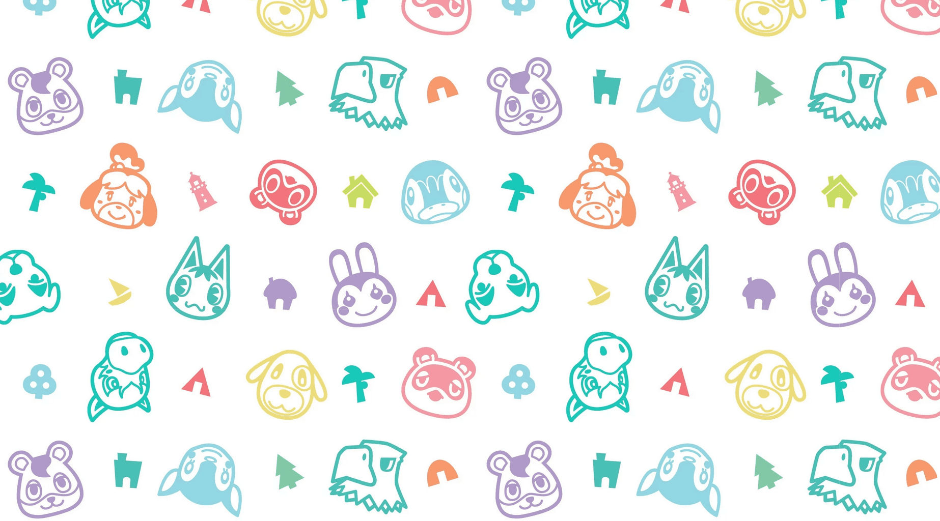animal crossing wallpaper new horizons