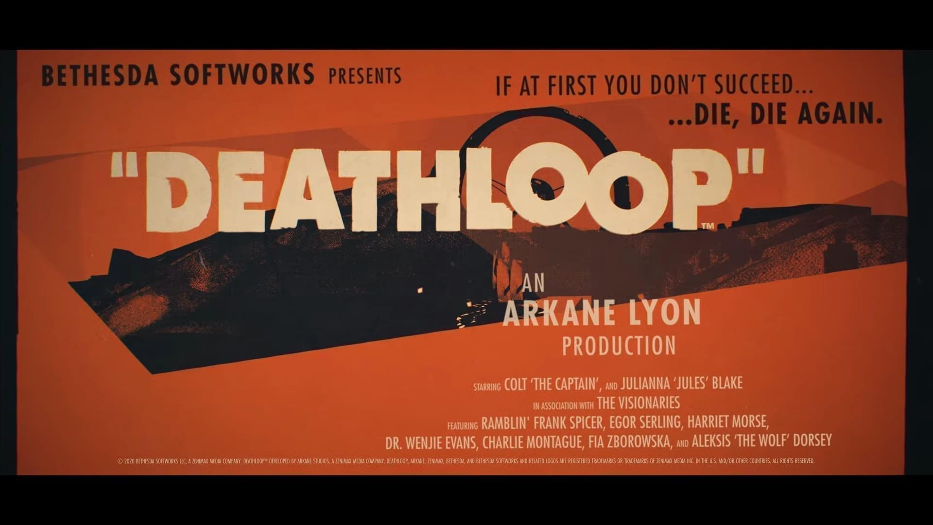 Deathloop Delayed Until Summer 2021